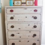 Chalk Painted Dresser Trash Treasure