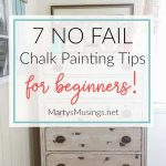 Chalk Painting Tips Beginners Supplies Must