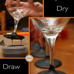 Chalkboard Paint Dipped Wine Glasses Diy Cozy