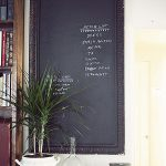 Chalkboard Paint Ideas Writing Walls Becomes