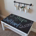 Chalkboard Paint Make Table Stand