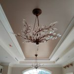 Champagne Metallic Paint Modern Masters Ceiling Gorgeous Project Toni