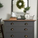 Charcoal Gray Dresser Sweet Little Note Farm Fresh
