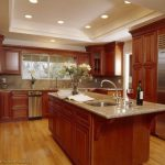 Cherry Color Kitchen