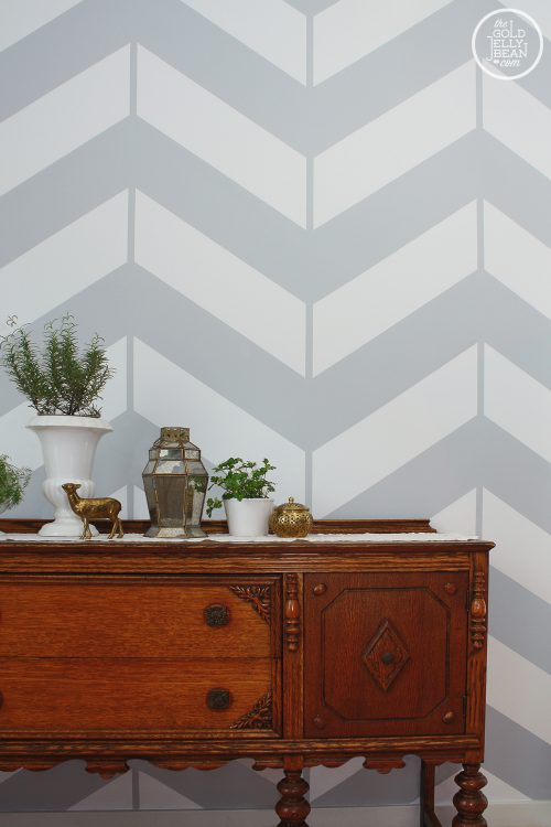 Chevron Herringbone Accent Wall Olde Century