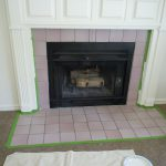 Chloe Colette Charming House Painting Fireplace