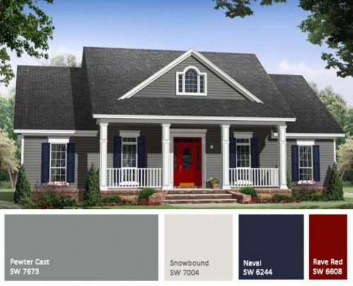 Choosing Exterior Paint Colors Homes