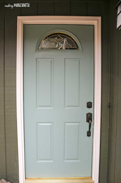Choosing Front Door Paint Colors Making