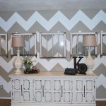 Christmas Gift Catalogs Paint Chevron Wall