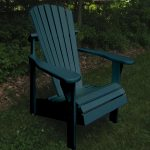Classic Painted Adirondack Chairs Set