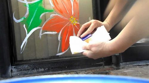 Cleaning Off Window Paint