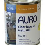 Clear Lacquer Matt Silk Auro Colours