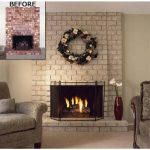 Clear Matte Finish Fireplace Painting Brick Paint