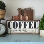 Coffee Hand Painted Wood Sign