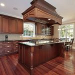Color Paint Kitchen Cherry Cabinets Home Design