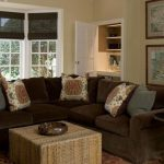 Color Should Paint Living Room Brown Best