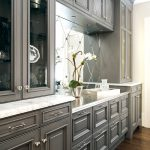 Color Would Paint These Cabinets Black Granite