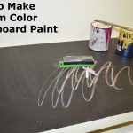 Colored Chalkboard Paint Casual