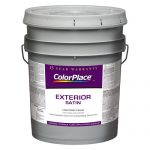 Colorplace Exterior Satin White Paint Gal