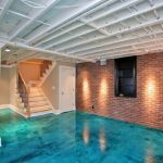Concrete Floor Paint Ideas Look Like Water Finishes