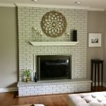 Considering Paint Not Brick Walls Fireplaces Painting