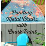 Cookie Puzzle Ing Metal Chairs Chalk