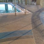 Cool Deck Rooftop Pool Sledge Concrete