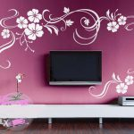 Cool Wall Paint Designs Living Room