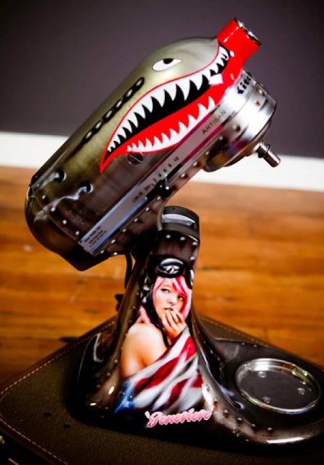 Coolest Custom Painted Kitchen Aid