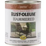 Copper Rust Oleum Gloss Hammered Metal Finish Paint