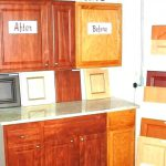 Cost Paint Cabinet Doors Before After Kitchen Painting Cork