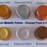 Craftmill Metallic Acrylic Artist Paints Card Wood Mdf Papier Mache Craft