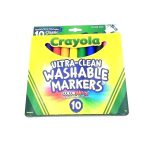 Crayola Window Markers Washable Cars Websekolah