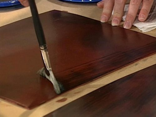 Create Faux Mahogany Finish Tos