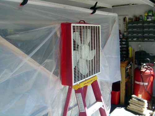 Create Paint Booth Your Garage