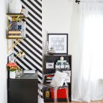 Create Striped Accent Wall Without Paint