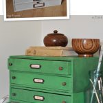 Create Vintage Industrial Look Furniture Using Chalk Paint Black Wax
