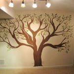 Creative Genius Art Tree Wall
