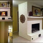 Creative Outpour Before After Painted Brick