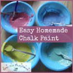 Creative Playhouse Easy Homemade Chalk