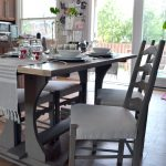 Crux Harvest Kitchen Table Makeover Chalk