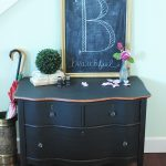 Curvy Black Dresser Noble