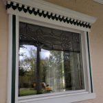 Custom Invisible Storm Windows Outside Removable Series