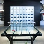 Custom Made Ping Pong Table Pound Glass Playing