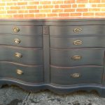 Custom Painted Dressers Antique Black Eclectic Providence Kingston