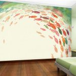 Customized Wall Murals Hand Painted Fish