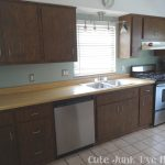 Cute Junk Made Paint Laminate Cabinets Part One