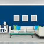 Dark Blue Interior Designs Navy Wall Paint Homes