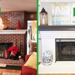 Dated Brick Fireplace Gets Painted White Angie