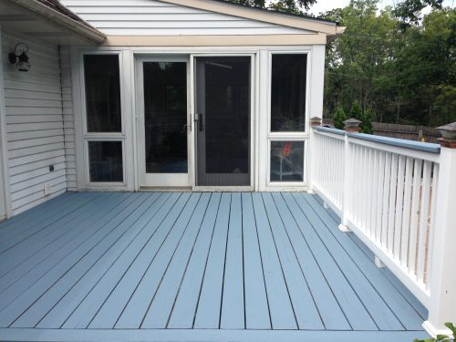 Deck Painting Bright